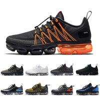ingrosso giallo giallo-Nike air vapormax shoes Laser Fuchsia Utility Men Running Shoes Tropical Twist Anthracite Reflect Celestial Teal Runner mens trainers Sports Sneakers 40-45