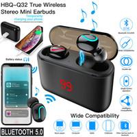 Wholesale hi fi gold resale online - Wireless Earbuds Bluetooth Earphones True Wireless in Ear Headphones TWS Noise Canceling Bluetooth Headset H Playtime HD Hi Fi Stereo