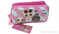 Wholesale kawaii doll case resale online - 2019 Kawaii cartoon doll Pen Case kid Coin Purse Cosmetic Makeup Pouch Storage Kids Birthday Gift zx001