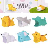 Wholesale cute japanese phones for sale - Group buy Big Cable Bite Protector for Iphone Big Cable Chompers Phone holder Accessory Organizer Cute Animal Doll Toy Gift