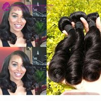 Wholesale pro hair curl resale online - full ends double drawn Aunty Funmi hair sprial curl pro hair curl human hair weave full thick bundles