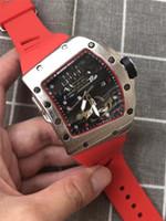 benzersiz işlevler toptan satış-2019 Yeni Erkek Kuvars Çok fonksiyonlu Tam el Çalışma # 38: s45MM Büyük Çevirme ince çelik Yüksek Kalite Erkekler Benzersiz Stil Watch + Kutu