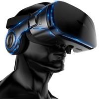 auriculares de realidad virtual vr al por mayor-K9 120 FOV VR gafas de realidad virtual 3D remoto Android cartón VR Auriculares estéreo 3D casco de la caja para teléfonos inteligentes 4.7 a 6.2 pulgadas