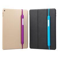 lápiz táctil de la tapa del lápiz al por mayor-Para Apple lápiz 1 caja de la tableta táctil Stylus Pen puntas de silicona cubierta protectora suave de la bolsa de la manga del casquillo antideslizante de Fundas para iPad