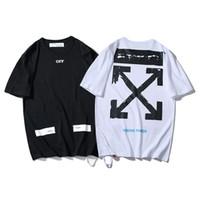 siyah kısa kimono toptan satış-Kısa Kollu T T-shirt Erkek Gelgit Kartı 2019 Yeni Desen Saf Pamuklu Giysiler T-shirt Siyah Mektup Kısa Kollu Yarım Kollu Erkek