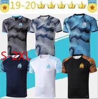 nueva ropa deportiva al por mayor-nueva 19 20 Olympique de Marsella de deportes del fútbol maillot de Pie 2019 20 Borussia fútbol polo de la camisa del tamaño S-2XL