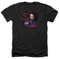 kostenlose filmkinder großhandel-Kinderspiel 3 Film Chucky TIME TO PLAY! Erwachsenes Heide-T-Shirt alle Größen-Mann-Frauen-Unisexart und weiset-shirt Freies Verschiffen