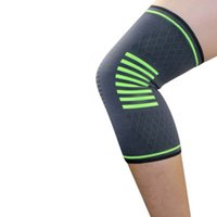 Wholesale green knee pads resale online - cycling protection knee pads Braces and Supports Knee for Pain Relief football basketball running breathable non slip Knee Protector ZZA103