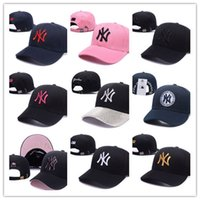 Wholesale snapback caps new york resale online - classic Golf Ball Cap Men Visor bone New York Luxury design Snapback Hats Last Kings gorras LK Sport Hockey Baseball