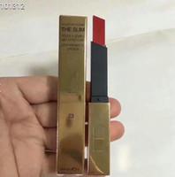 barra de labios nueva llegada al por mayor-ENVÍO GRATIS Nueva marca de la llegada el lápiz de labios de cuero delgado color de labios tamaño completo maquillaje LIPSTICK 12pcs / lot