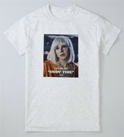 Wholesale posters women for sale - Group buy Lana Doin Time T Shirt Ultraviolence Rey Retro Giant Woman Vintage Poster Tee Homme Customized Tee Shirt