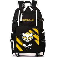 Wholesale rainbow laptop resale online - Dokkaebi backpack Rainbow six school bag Wolf fangs mace daypack game laptop schoolbag Outdoor rucksack Sport day pack
