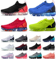ingrosso nuovi formatori di signore-2018 top Nike Vapormax premium air cushion 2 2.0 designer shoes ladies casual shoes new sports shoes running shoes 11 color size 36-45