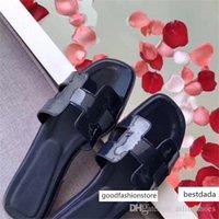 Wholesale best flip flop slipper for sale - Group buy 36 Colors Fashion Oran Sandal Slipper Best Quality Designer Shoes Summer Beach Flip Flops Slides Outdoor Women Slippers US9 with Box