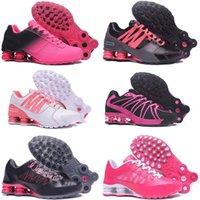 envío gratis nz al por mayor-Envío gratis mujeres Shox zapatos corrientes corrientes de aire hombres negros de malla transpirable Shox NZ R4 zapatillas deportivas hombre azul zapatos tenis tenis