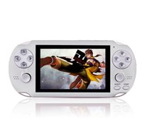 Wholesale build games console resale online - PAP Gameta II Handheld Game Consoles Portable Bit Retro Video Games Players Built in GB Support TV Out MP3 MP4 MP5 Camera DHL