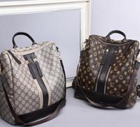 koreanische taschen kreuzen großhandel-Europa / USA Neue vielseitige Rucksack Damentasche Koreanische Version der Modetasche Kreuz Umhängetasche