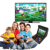 Wholesale retro gaming consoles online - 2019 SFC MD GBA Retro Arcade Game Console A8 Gaming Machine Classic Games Support TF Card Expansion Gamepad Control AV Out quot Screen