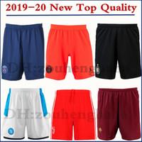 marsella fútbol al por mayor-2019 2020 PSG Mbappé pantalones de fútbol 19 20 Paris Napoli Fútbol Calzoncillos Roma Marsella Futbol culotte cortos de bolas entre juve