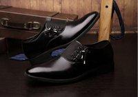 zapatos de vestir marrón oscuro para hombre. al por mayor-2015 cuero de color oscuro de los hombres zapatos de vestido de los zapatos hechos a mano los zapatos de encargo Monk genuino de la pantorrilla de la correa marrón dobles hebillas