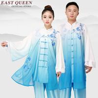 ingrosso abbigliamento donna wushu-Tai chi uniforme abbigliamento taichi vestiti donne uomini wushu abbigliamento kung fu uniforme vestito arti marziali esercizio KK2330