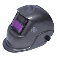 soldadura tig mig al por mayor-Oscurecimiento automático Soldadura Casco Soldadores Máscara Arco Tig Mig Rectificado Energía solar