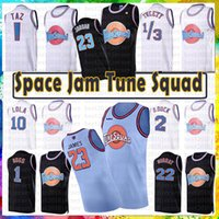 Wholesale bunny blue for sale - Group buy Blue LeBron James Taz Tweety Tune Squad Space Jam Bugs Bunny Movie Basketball Jersey Michael Bill Murray D DUCK Lola