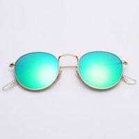 дизайнер солнцезащитные очки женщина поле оптовых-дизайнерские солнцезащитные очки круглых металлических мужчин, женщины реального UV400 стеклянных линзы солнцезащитных очки оптовая свободная оригинальная кожаный чехол, ткань, коробка, аксессуары.