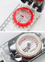 Wholesale military compasses resale online - New Professional Pocket Military Army Geology Compass for Outdoor Hiking Camping