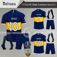 Wholesale sports uniform jerseys for sale - Group buy 19 Boca Juniors Jerseys Home Away uniform Boca Juniors GAGO OSVALDO CARLITOS PEREZ DE ROSSI sports football shirt kits