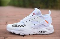 renkli eğiticiler toptan satış-2019 Yeni Huarache Ultra Koşu Ayakkabıları Kapalı Erkekler Kadınlar Için Huraches Siyah Beyaz Renkli Huaraches Tasarımcı ayakkabı Sneakers Atletik Eğitmenler
