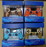 Wholesale game controller resale online - PS4 Wireless Bluetooth Game Gamepad SHOCK4 Controller For PS4 Game Controller with new retail package box