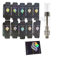 Wholesale Lions Breath Cart Empty Vape Cartridge Ceramic Coil Thread Atomizer ml ml Press round tip Ecig Vaporizer pen Packaging