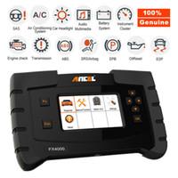 chip transponder peugeot id46 al por mayor-ANCEL OBD2 Escáner de coche Diagnóstico Motor Codificación SRS ABS EPB ESP Herramienta de sistema completo