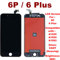 original iphone china groihandel-Hohe Brigtness LCD Screen Digitizer für iPhone 6 Plus LCD-Touch Screen für iphone 6P Assembly Compatiable A1863 A1905 A1906 keine Pixelfehler