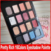 ingrosso migliore collezione ombretto-Pretty Rich Collection Diamond Light Eyeshadow Palette Best Fit Me Eyes Glow Makeup Palette Bellezza regalo di Natale