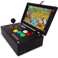 jeux vidéo de boîte à jouets achat en gros de-Joueur de jeu vidéo LCD 10 pouces 3D Double Arcade jeux Boîte Console de jeu portable Lecteur de sortie HDMI Jouet de décompression Jouet