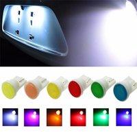 ingrosso lampade a cuneo-Lampada da auto in ceramica per strumenti laterali Car Styling Car Interior LED T10 COB W5W 168 Wedge Light HHA122