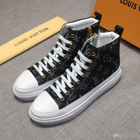 Wholesale boots high tops for men resale online - 2018 Hot Men Boots Fashion Warm Winter Snow Boots Men shoes Autumn Leather Footwear For Man New High Top Canvas Casual Shoes Men