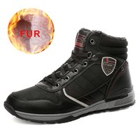 Wholesale comfortable working shoes for sale - Group buy High Quality Casual Warm Fur Snow Boots Men Cowboy Comfortable Rubber Boots Men Ankle Work Safety Shoes Male Footwear Shoes