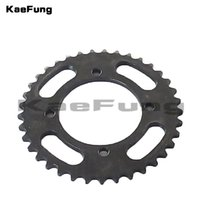 Wholesale dirt bike wheels resale online - Motorcycle mm T rear chain sprocket gear wheel plate for cc cc YCF SDG Thumpstar atv quads pit dirt bikes