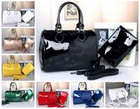 messenger rucksäcke für frauen großhandel-Designer High Quality New Handtasche Schlangenhaut Mode Beliebte Messenger Bags Frauen Luxus Rucksack Damen Pu-leder Brieftasche Umhängetaschen