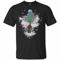 ingrosso anti lontano-Mysterio T-shirt Spider Man Far From Home 2019 Tee Shirt manica corta Vintage Tee Shirt