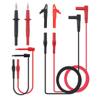 Wholesale test cable wire resale online - Litake Multifunction Electronic Professional Probe Test Lead Cable Clip Digital Multimeter Wire Accessory Kit