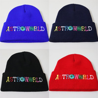 c1c36e093b8 Astroworld WISH YOU WERE HERE Beanies Embroidery Sleeve Head Knitted Hat  Hip Hop Woolen Hats 8 Colours Keep Warm 6 6lh D1