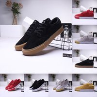 Wholesale janoski rubber shoes for sale - Group buy 2020 SB ZOOM Stefan Janoski Casual Shoes For man women black Utility Grey Red Sports Trainers retro Skateboard Sneakers running Shoes