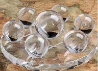bolas de cristales de feng shui al por mayor-Siete matrices de adornos de bolas de cristal naturales Lucky Feng Shui transport 40–50mm