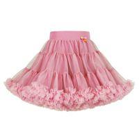 vestido de balé de bebês venda por atacado-Baby Girl Tutu Vestido Plissado Ballet Menina Princesa Vestido Designer Saia Cor Sólida Malha A Linha Saia 48