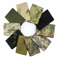 Wholesale scarves for sale - Group buy camouflage Tactical scarf summer breathable mesh scarves outdoor hiking camping neck scarf bike cycling sport scarves LJJZ476