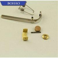 Wholesale brass trombone resale online - 1set Metal Trombone Water Key Valve Brass Instrument Accessor new